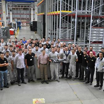 Gebze fabrikamız Toyota C-Hr ile far üretimine başladı.